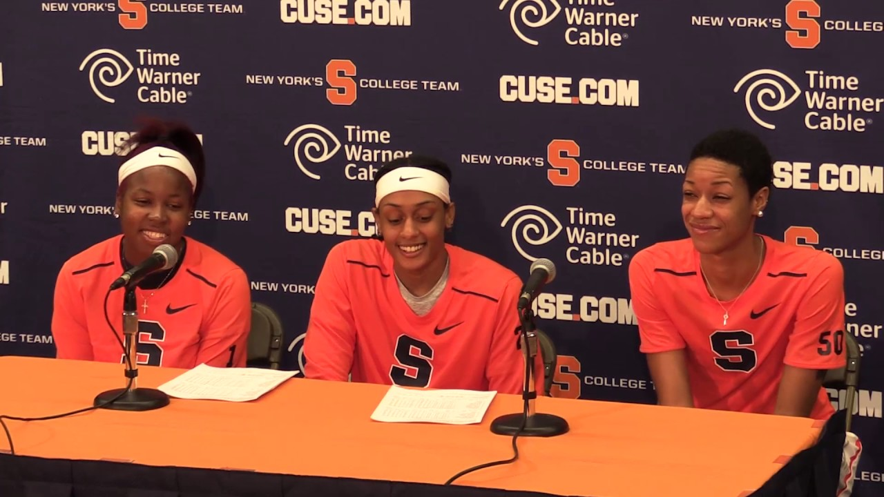 Syracuse women\u0027s basketball Central Conn. press conference - YouTube