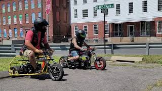 MINIBIKE MANIA DRAG RACE AT THE NEW ENGLAND MOTORCYCLE MUSEUM