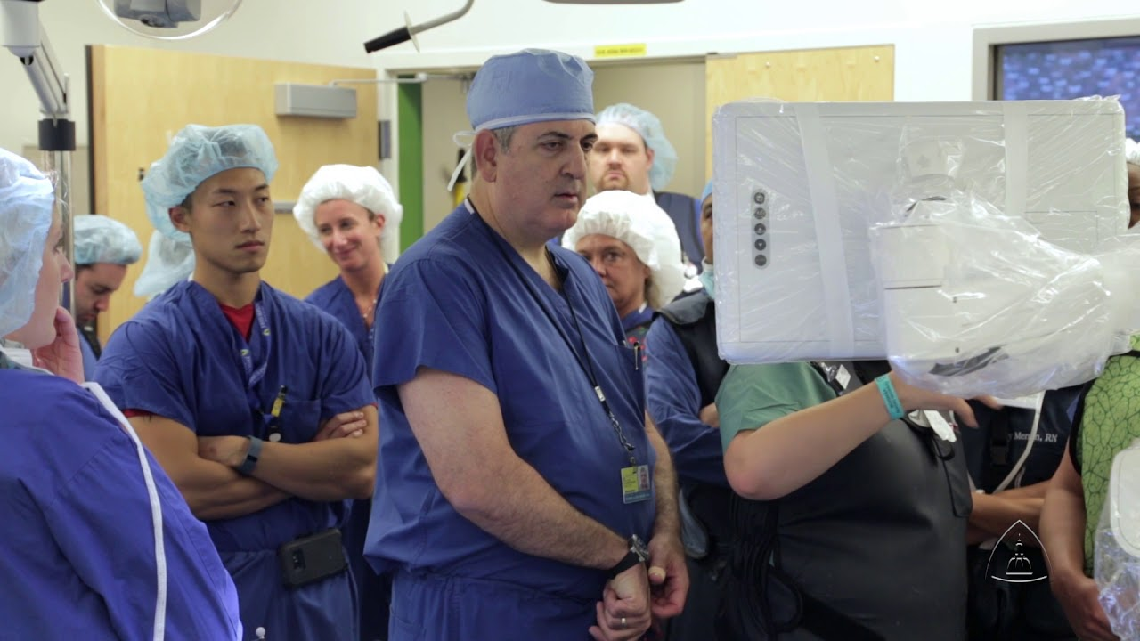 Johns Hopkins Surgeons Perform First Real-Time Image Guided Spine