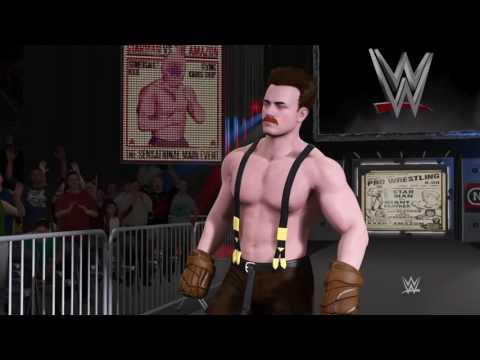 WWE 2K17 Nintendo Battle: Little Mac VS Von Kaiser