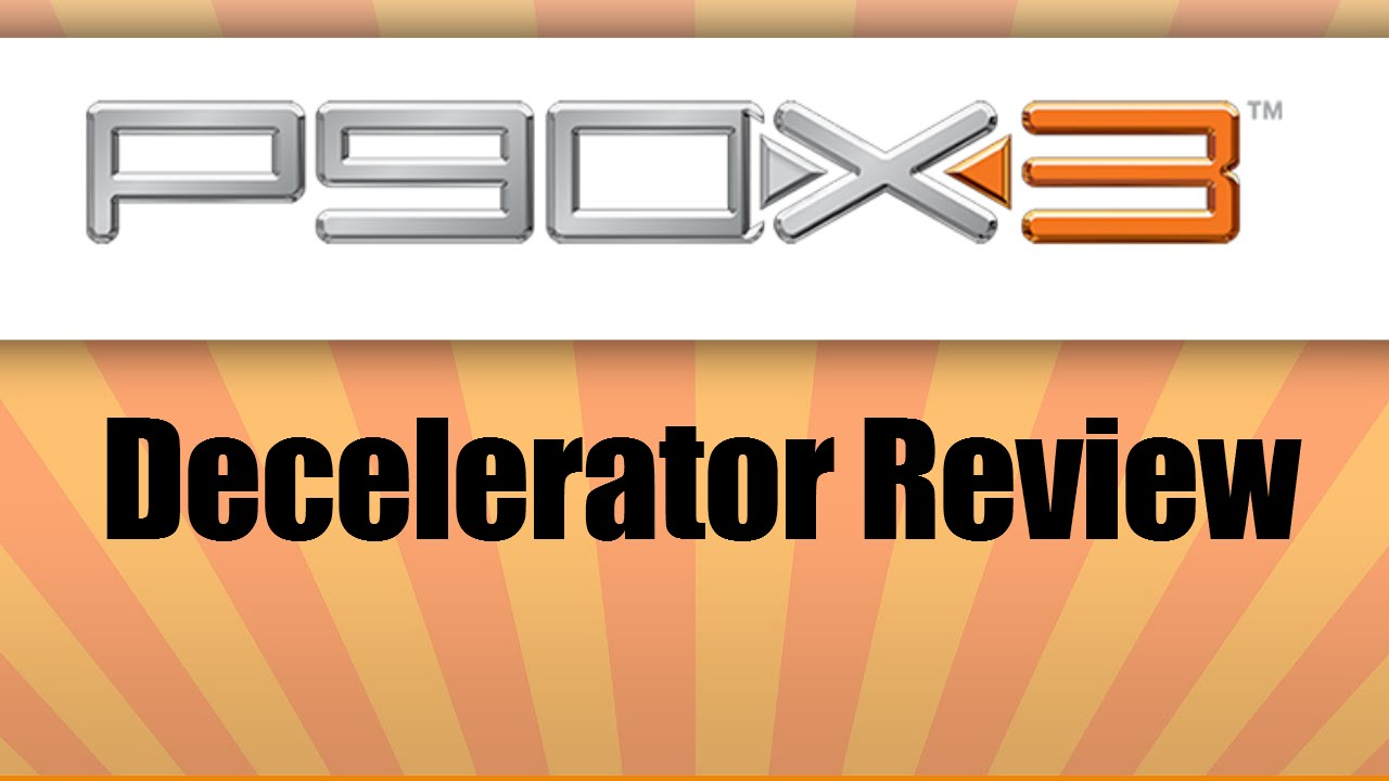 P90X3 Decelerator Review UP CLOSE with Tony Horton