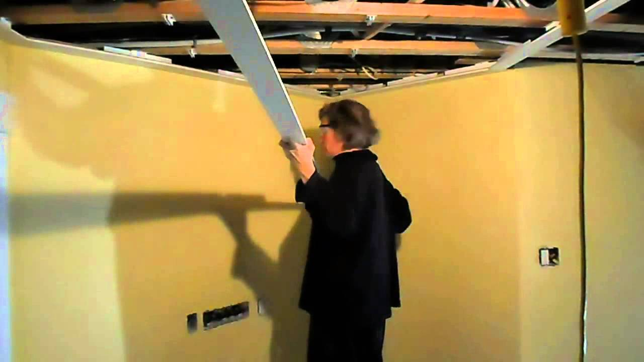 Embassy ceiling installation on an angle youtube for Install consul