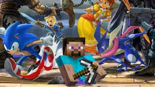 All Smash Ultimate Banner Reveals Including Minecraft Steve (Everyone is Here!)