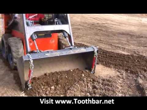 Tractor And Skid Steer Toothbar With Bucket Teeth From Www Toothbar