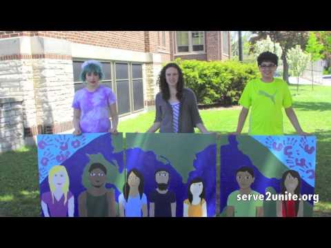 S2U Fernwood Montessori Presents: Coexist modular mural