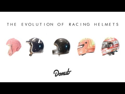 The Evolution of Racing Helmets | Donut Media