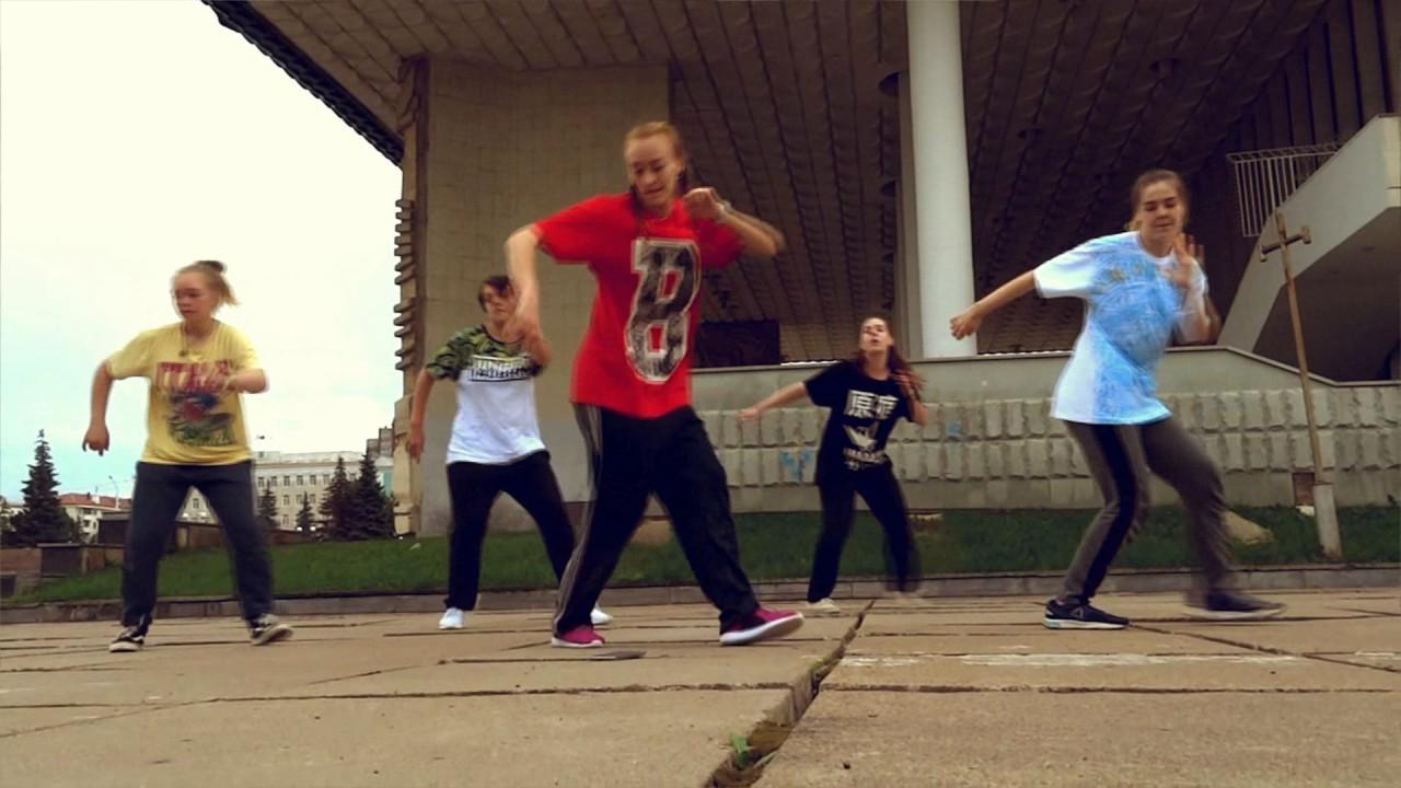 Hip-hop Old School Dance Choreo. Хип-хоп танцы для начинающих.