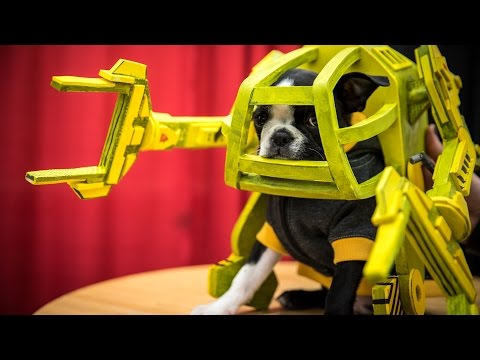 Making an Aliens Power Loader Suit for Ripley the Puppy!
