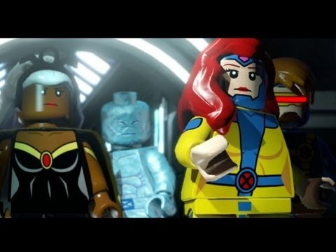 marvel lego level 8