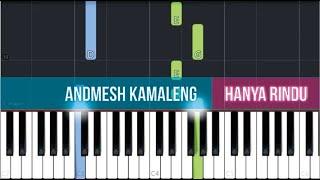 Download lagu Andmesh Kamaleng - Hanya Rindu (SLOW EASY Piano Tutorial)