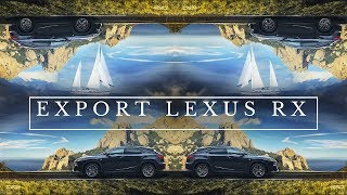 New Lexus RX 200t.  Export of cars from Russia. MAYORCARS - auto agency.
