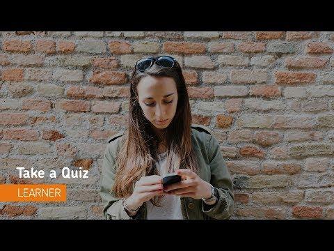 Quizzes - Take a Quiz - Learner