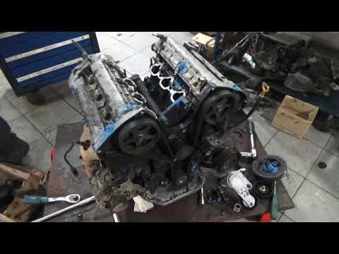 Двигатель Хендай Туссан G6BA 2.7 заклинил, какой ресурс? Меняй масло вовремя!