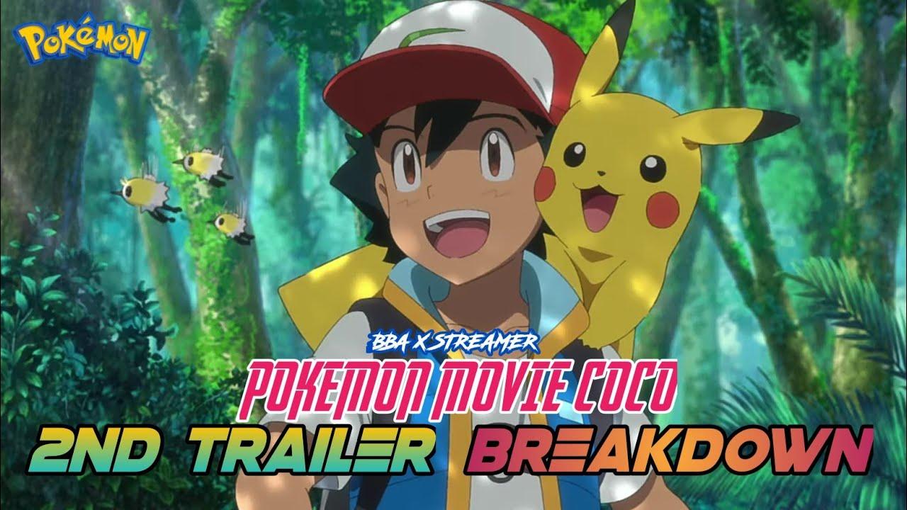 Pokemon Movie 23 Coco 2nd Trailer Breakdown In Hindi Pokemon