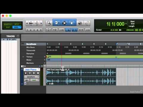 Pro Tools 12 100: Absolute Beginner's Guide – 8. Edit Modes: Pt. 1
