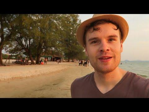 RELAXING AT OTRES BEACH, CAMBODIA (SIHANOUKVILLE) 🇰🇭