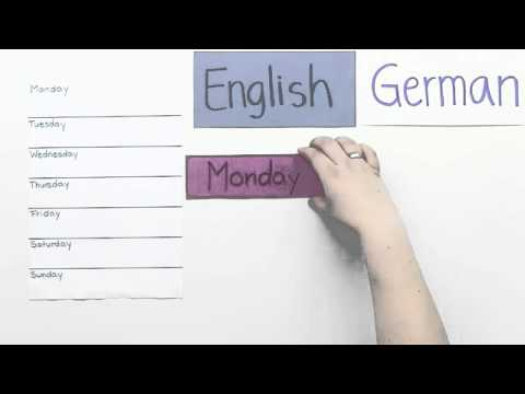 Geschrieben Englisch