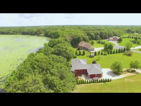 Property Tour of 25204 Firefly Ave, Wyoming, MN 55092 - Drone Video