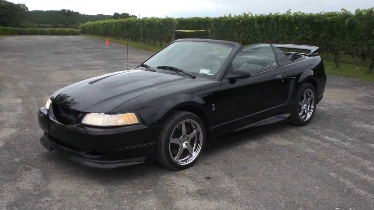 1999 Ford Mustang SVT Cobra Roush Convertible For SaleTriple