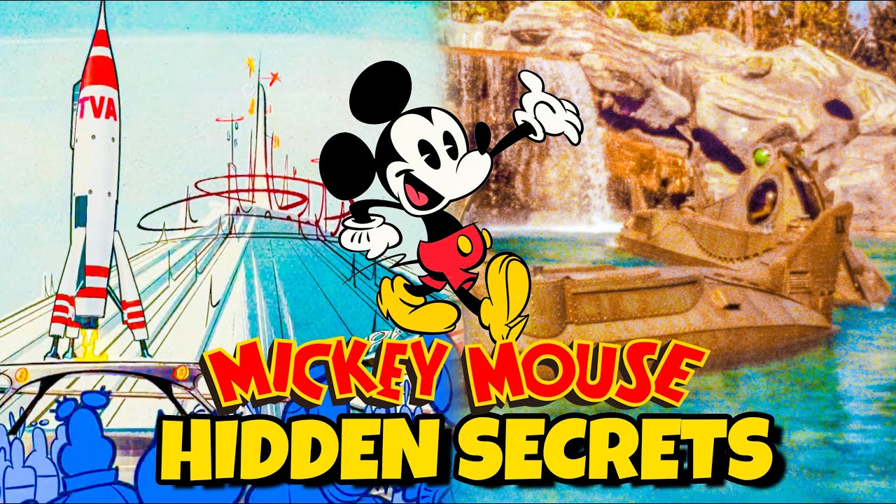 Top 10 Hidden Disney Ride Easter Eggs in Mickey Mouse Shorts