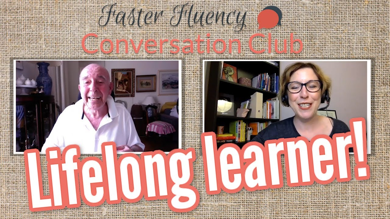 Boost your brain power and your English skills, with Faster Fluency Conversation Club