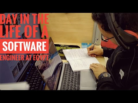 Day in the life of a software engineer in EGYPT | Madahetooo