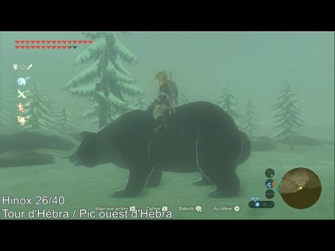 The Legend of Zelda: BotW - Emplacement des armes Goron