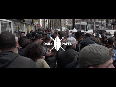 Grand opening Daily Paper store Amsterdam