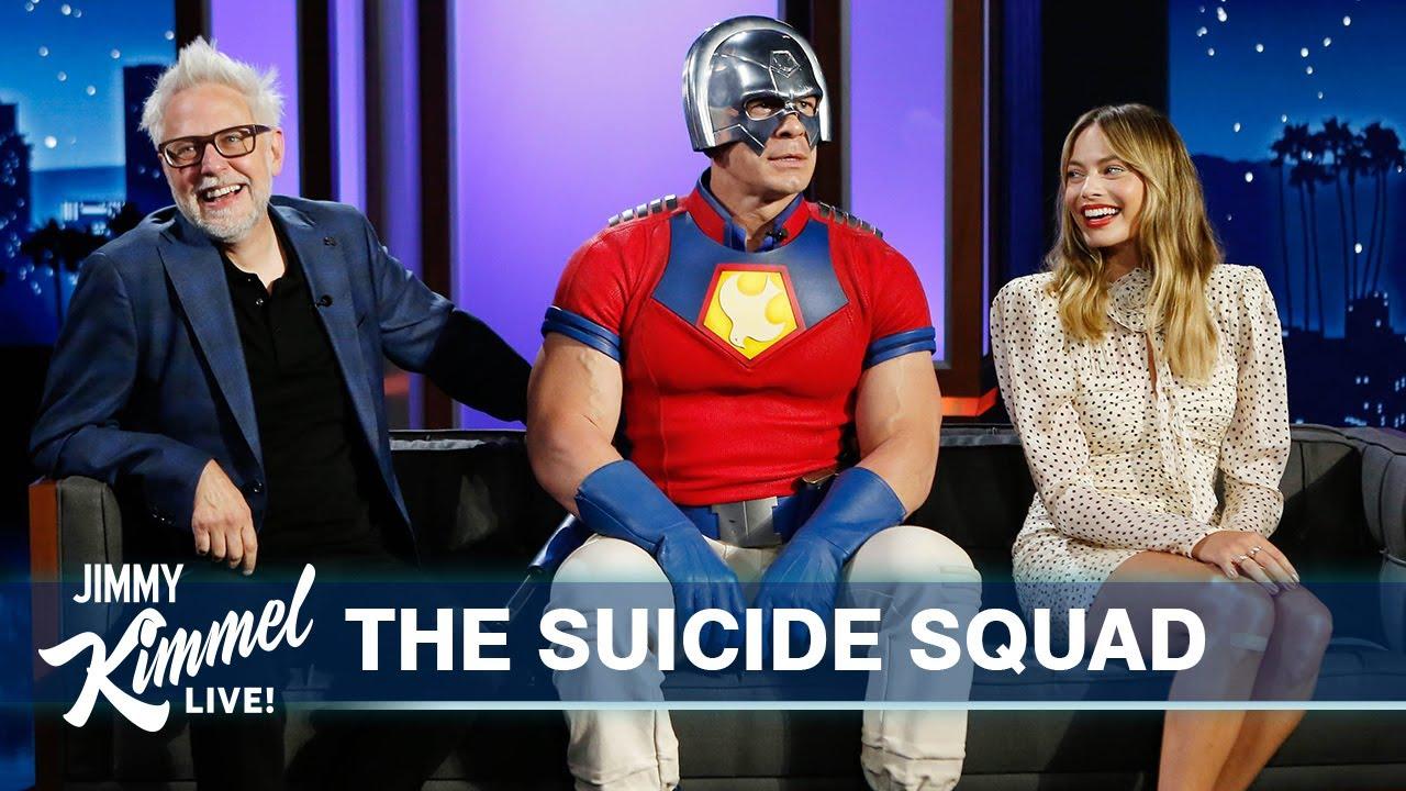 Download Margot Robbie, John Cena & James Gunn on The Suicide Squad, Margot & John's History & Crazy Stunts