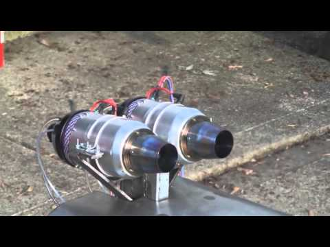 RC Jet Engine test