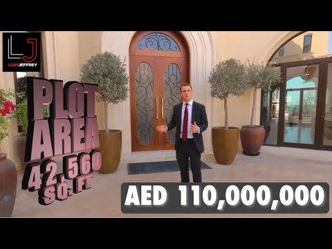 AED 110,000,000 Luxury Dubai Mansion