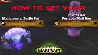 How to get a Personal WOW Mailbox & Mailemental Battle Pet (World of Warcraft)