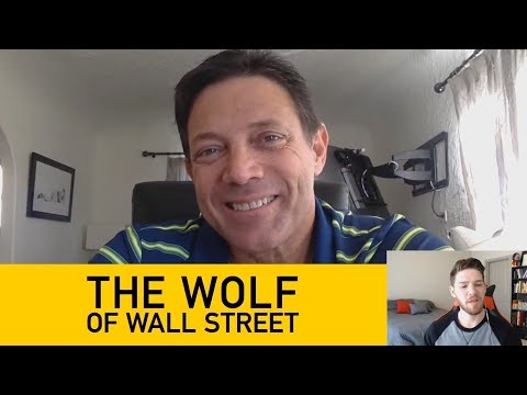 Jordan Belfort The Wolf of Wall Street Talks Cryptocurrency, the Future of Business and More!