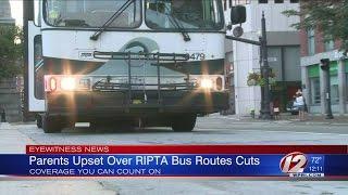 Gambar cover Parents Upset Over RIPTA Cutting Bus Routes