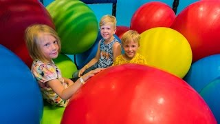 Fun for Kids and Family at Indoor Playground Play Center
