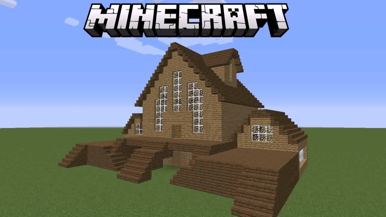 Minecraft House Ideas Easy To Build - YouTube