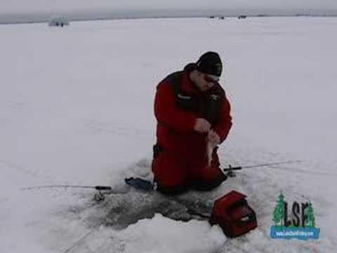 Minnesota Ice Fishing Lake Of The Woods Walleye Youtube