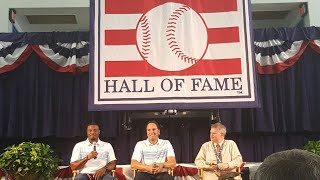 Baseball Hall of Fame 2016 Induction Weekend