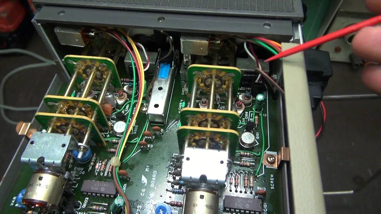 How to remove tarnish from vintage radio test equipment switches by