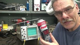How to remove tarnish from vintage radio test equipment switches by D-lab