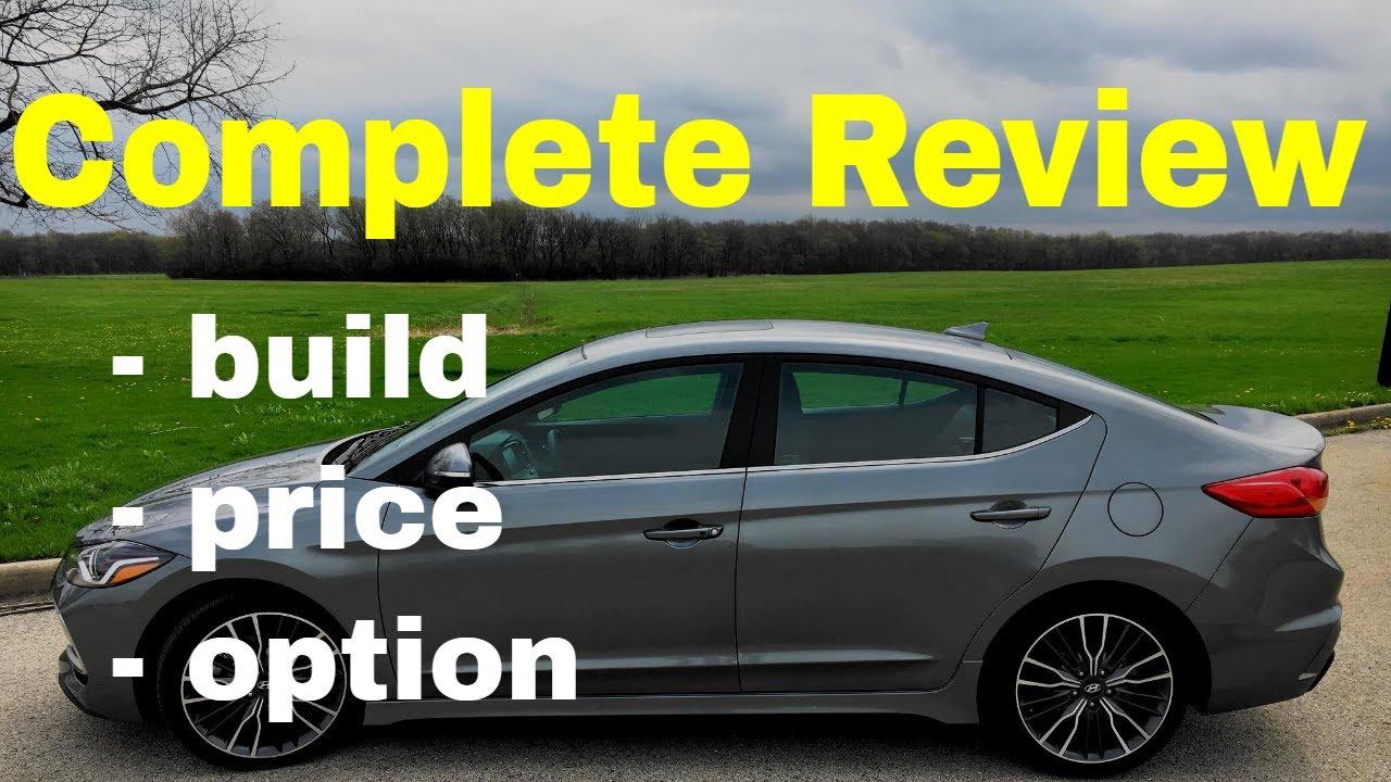 2018 Hyundai Elantra Sport Automatic Sedan   Build U0026 Price Review