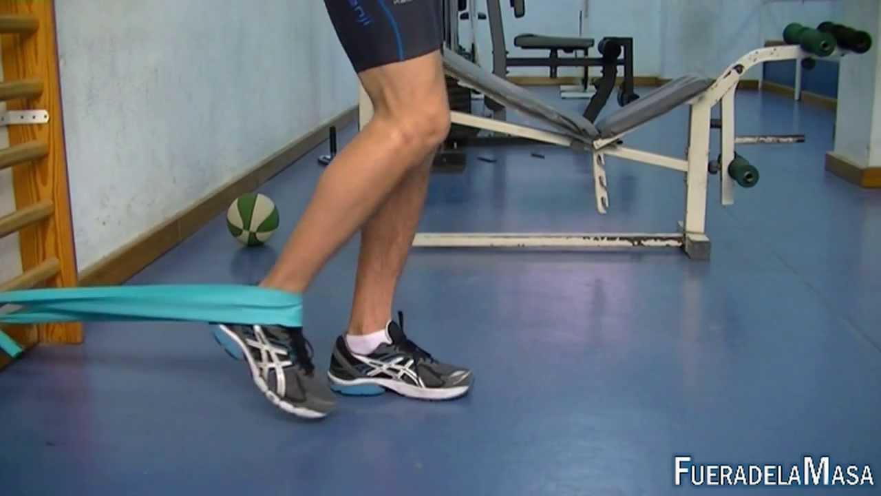 ejercicios pregnancy cuadriceps trick fanfarria elastica