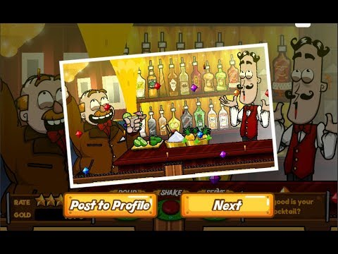 Bartender game perfect drink – Komfyr bruksanvisning