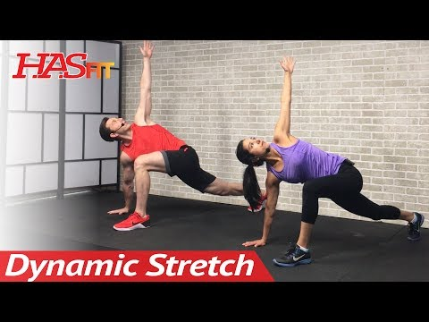 12 Min Full Body Dynamic Stretching Routine: Dynamic Warm Up Exercises Before Workout & for Activity