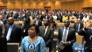 eNCA | Dlamini-Zuma Receives Symbols of AU Commission
