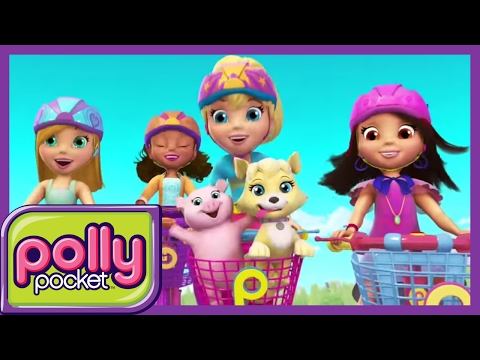 Polly And The Girls MEGA COMPILATION -  Cartoons For Children  - Girls