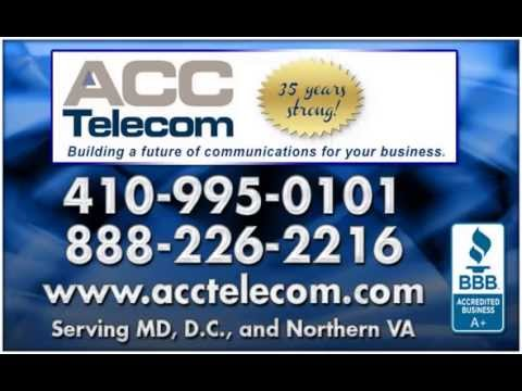 Onsite IP Phone Systems & SIP Trunks | Columbia, MD - ACC Telecom