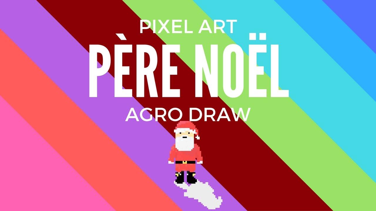 Pixel Art Père Noël