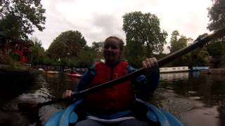 River Thames Regents Canal Kayaking - 30sec Review