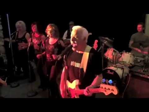"Phil ""Fang"" Volk, Original Raider, & his band Fang & the Gang. Live Concert footage 2015 (5 minutes)"